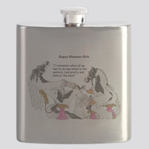 Gypsy Glamour Girls Shows Flask