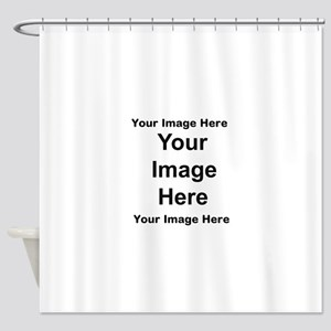Personalised 2 Shower Curtain