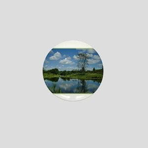 Landscape, beautiful photo, Mini Button