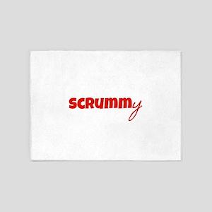 Scrummy 5'x7'Area Rug