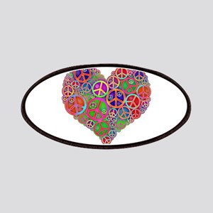 Peace Sign Heart Patch