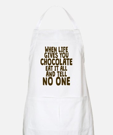 Life Gives You Chocolate Apron