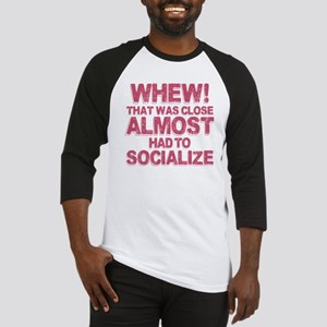 Introvert Social Anxiety Humor Baseball Jersey