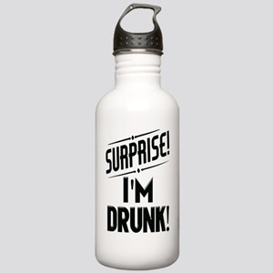 Surprise I'm DRUNK Sar Stainless Water Bottle 1.0L