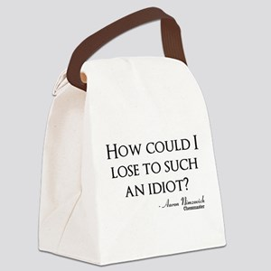 How Could I Lose Canvas Lunch Bag