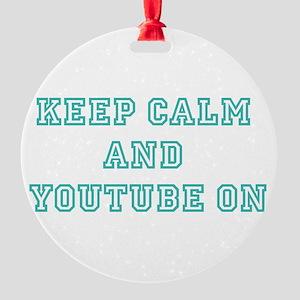 Keep Calm Ornament