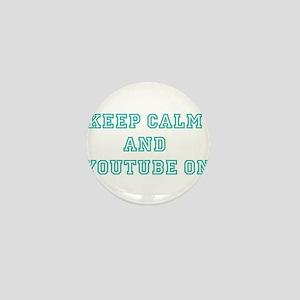 Keep Calm Mini Button