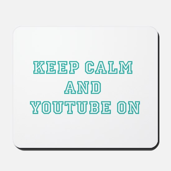 Keep Calm Mousepad