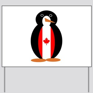 Penguin of Canada Yard Sign