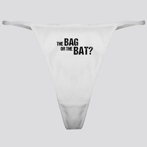 The Bag or the Bat Classic Thong