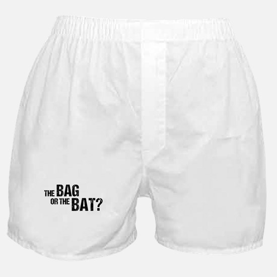 The Bag or the Bat Boxer Shorts