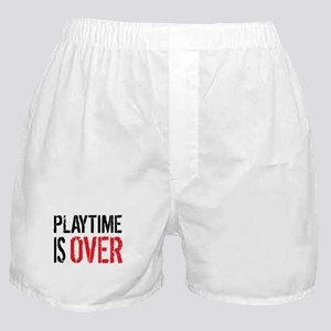 Playtime is Over - Ray Donovan Boxer Shorts