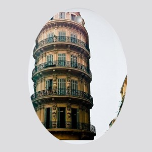 French Architecture Ornament (Oval)