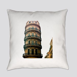 French Architecture Everyday Pillow