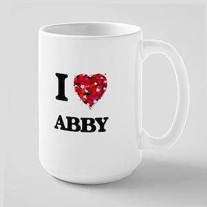 I Love Abby Mugs