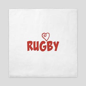 Love Rugby Queen Duvet