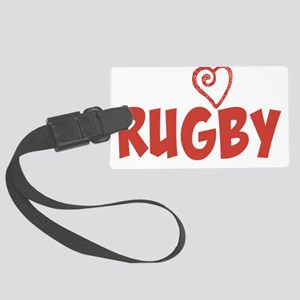 Love Rugby Luggage Tag