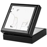 Polar Bear Stand 1 Keepsake Box