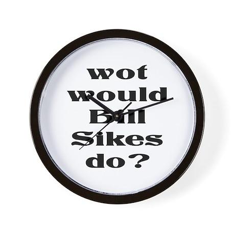 Bill Sikes Wall Clock