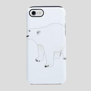 Polar Bear Stand 1 iPhone 8/7 Tough Case