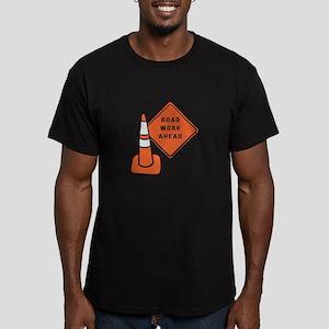 Road work ahead traffic cone T-Shirt