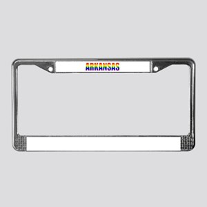 Arkansas Gay Pride License Plate Frame