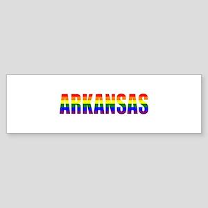 Arkansas Gay Pride Bumper Sticker