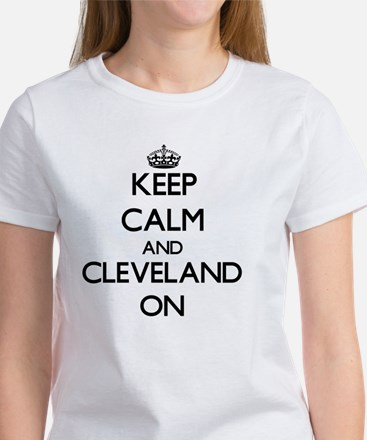 Keep Calm and Cleveland ON T-Shirt