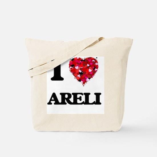 I Love Areli Tote Bag
