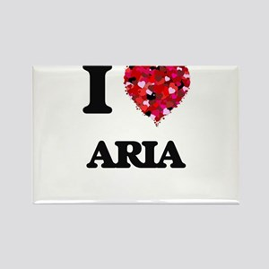 I Love Aria Magnets