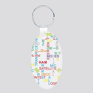 HAM RADIO WORDS Keychains
