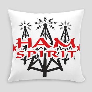 Ham Spirit Everyday Pillow