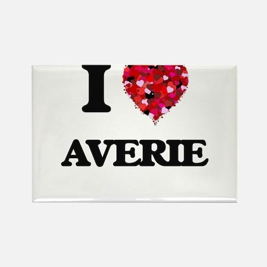 I Love Averie Magnets