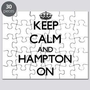 Keep Calm and Hampton ON Puzzle