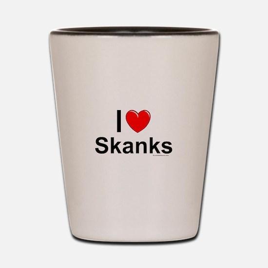 Skanks Shot Glass