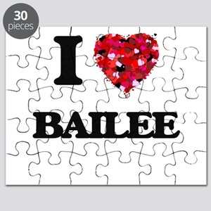 I Love Bailee Puzzle