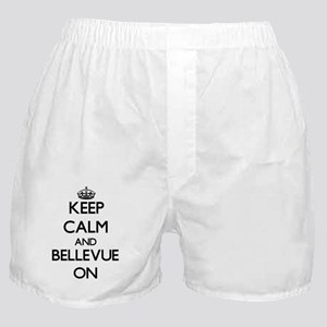 Keep Calm and Bellevue ON Boxer Shorts