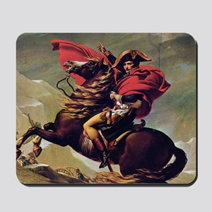 Napoleon On Horse Painting Mousepad