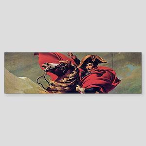 Napoleon On Horse Painting Bumper Sticker