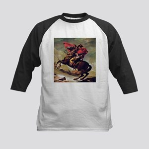 Napoleon On Horse Painting Baseball Jersey