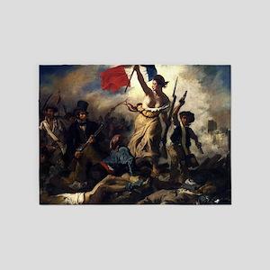 Eugène Delacroix French Revolution Painting 5'x7'A