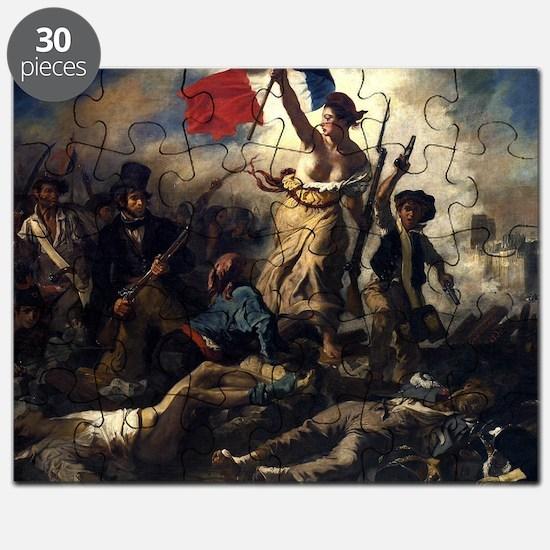 Eugène Delacroix French Revolution Painting Puzzle