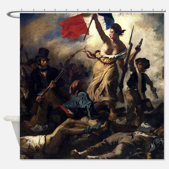 Eugène Delacroix French Revolution Painting Shower
