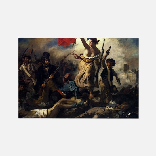 Eugène Delacroix French Revolution Painting Magnet