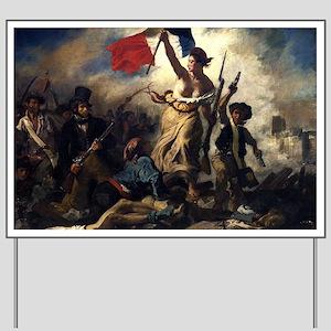 Eugène Delacroix French Revolution Painting Yard S