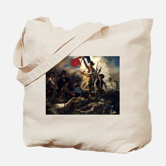 Eugène Delacroix French Revolution Painting Tote B