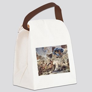 Painting Of Morpheus Canvas Lunch Bag