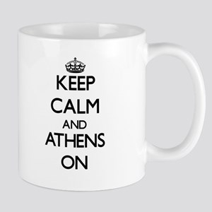 Keep Calm and Athens ON Mugs