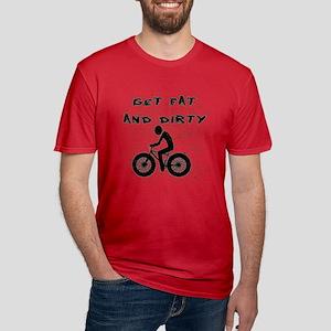 FAT BIKE-GET FAT AND DIRTY T-Shirt