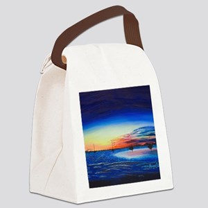 Sunrise at the Snook Canvas Lunch Bag
